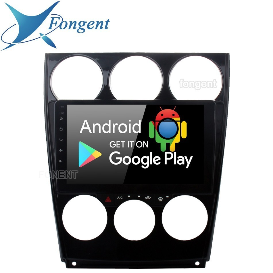 Android 9.0 Rádio Do Carro 6 2 Din Gps Navi Para Mazda 2006 2007 2008 2009 2011 2012 2013 Mazda6 Px6 dsp Ips 4 gb + 64 gb 8-core Rds DVR