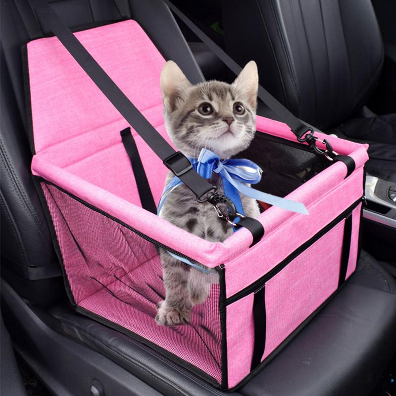 US $22 83 38% OFF|600 d Oxford Pet Dog Cat Car Travel Protector On The  Front Seat Waterproof Non Slip Mat Basket Pet Dog Car Carriers Bags Mat  Bed-in