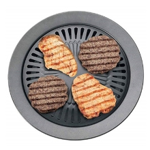 BBQ grill  Portable Korean Outdoor Smokeless Barbecue Gas Grill Pan Household Stove Plate Bbq Roasting Cooking Too