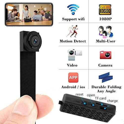 3000mah Mini WIFI Flexible Camera 1080P Power Display Video Audio Recorder Motion Detection Camcorder IP P2P