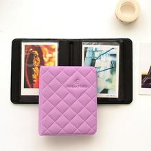 36 Pockets Polaroid Photo Album Portable Mini Instant Picture Storage For Fujifilm Photo Albums ID Card Package
