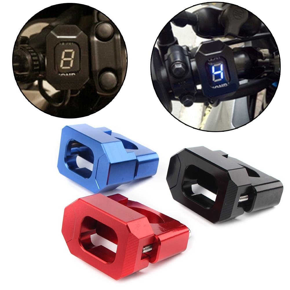 Universal Motorcycle Gear Display Indicator Stand Holder For Honda Yamaha 22mm