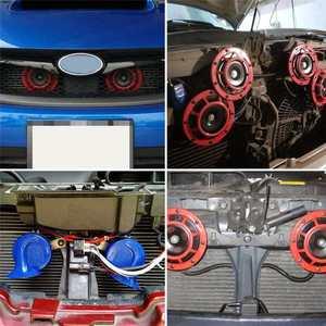 Image 5 - Kit de arnés de cableado para parrilla de coche, Kit de arnés de cableado de bocina eléctrica de 12/24V 40A, claxon de tono Blast