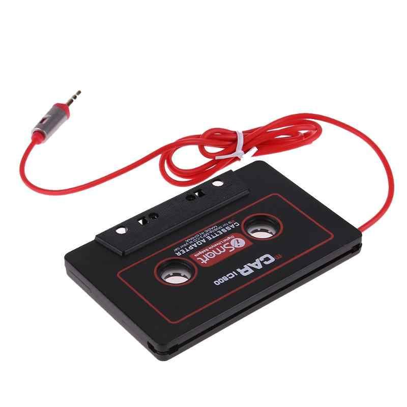 3.5 ミリメートル ABS プラスチック黒ジャックプラグ車のカセットテープアダプタカセットケーブルフィート Mp3 へ