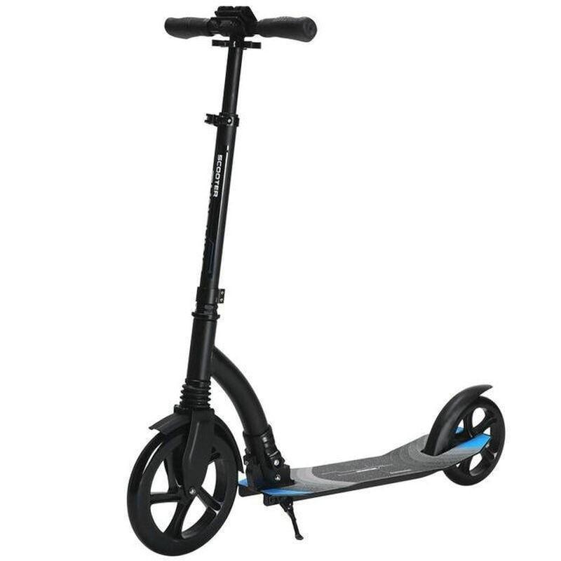 Scooter de coup de pied ALS-A7 adultes Scooters portables pliables urbains roue en polyuréthane Double tampon léger planche à roulettes cascadeur rapide