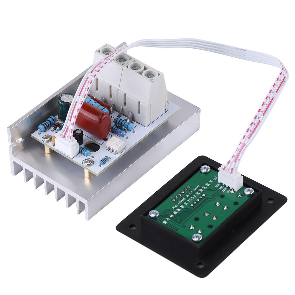 10000W 220V High Power SCR Dimmer Thermostat DC Motor Controller Variable Speed