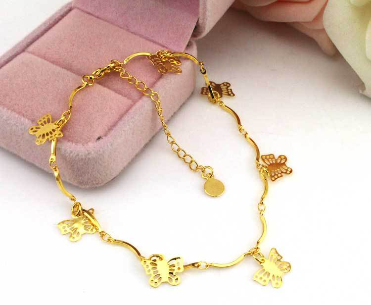 Jewelry & Accessories Anklets Circle Charms Gold Anklet Leg Bracelet Foot Jewelry Ankle Bracelets For Women Enkelbandje Tornozeleira Pulseras Tobilleras Mujer High Safety