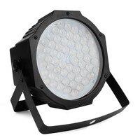60 LED RGB Stage Light Aluminum Alloy LED Par RGB + UV Lights Led Lighting DMX512 Disco Light Professional Stage Dj Equipment