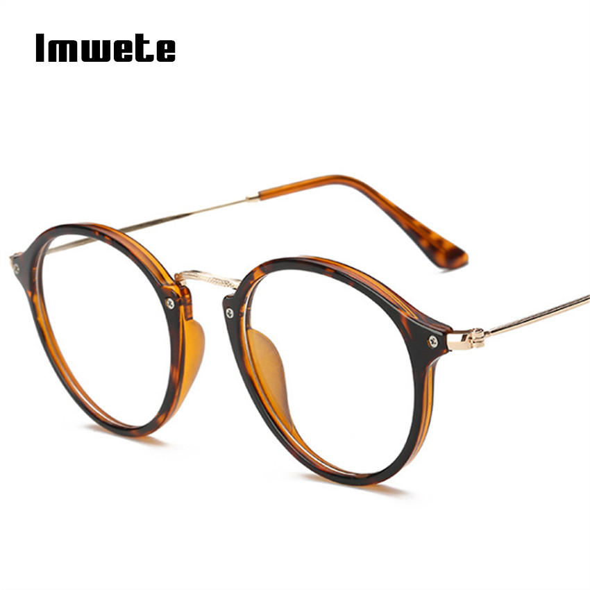 Imwete Optical Glasses Frames Women Clear Lens Eyeglasses Frames Female Myopic Prescription Eyewear Transparent Spectacle