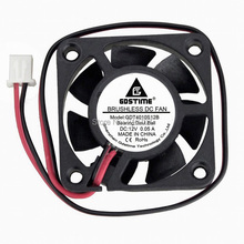 2PCS Gdstime 4010 40x40x10mm 4cm 12V DC Mini Cooling Cooler Dual Ball Bearing 40mm Fan