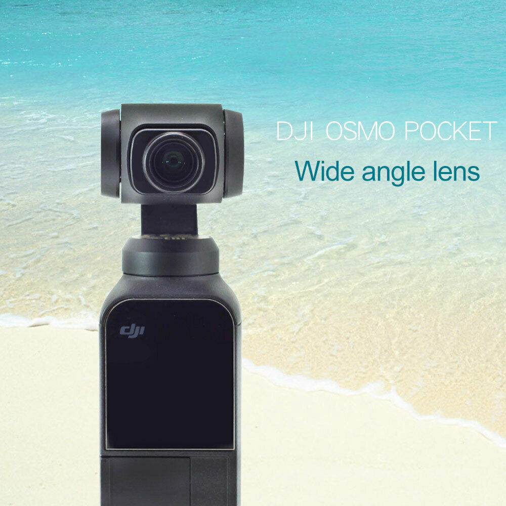Magnetic Wide-Angle Camera Lens for Dji Osmo Pocket Gimbal Accessoies Magnetic HD Camera Lens for Osmo PocketMagnetic Wide-Angle Camera Lens for Dji Osmo Pocket Gimbal Accessoies Magnetic HD Camera Lens for Osmo Pocket