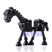 DR TONG Single Sale Skeleton Horse Medieval Castle Knights Skeleton Knights Building Bricks Blocks Toys Children Gifts(China)