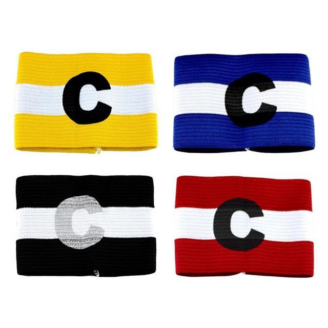 1 Pc Colored Football Captain Armband Team Armband Bracelet Group Cuff