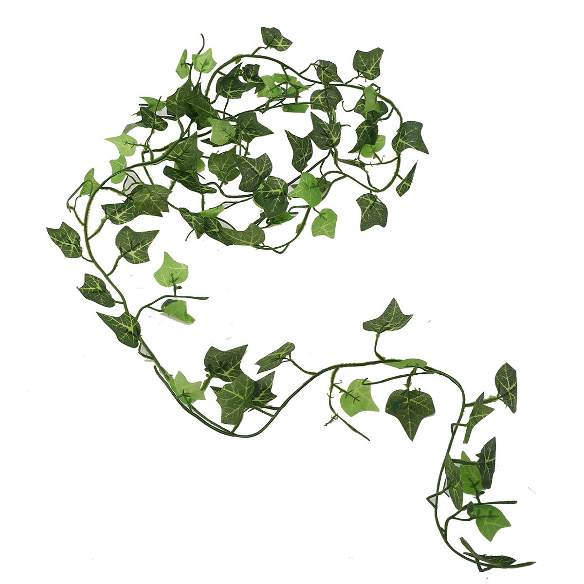 US $1.64 22% OFF|2.4m Artificial Ivy Vine Leaf Fake Sweet Foliage Garland Plant Creeper Green Ivy Wreath For Home Wedding Decor in Artificial & Dried
