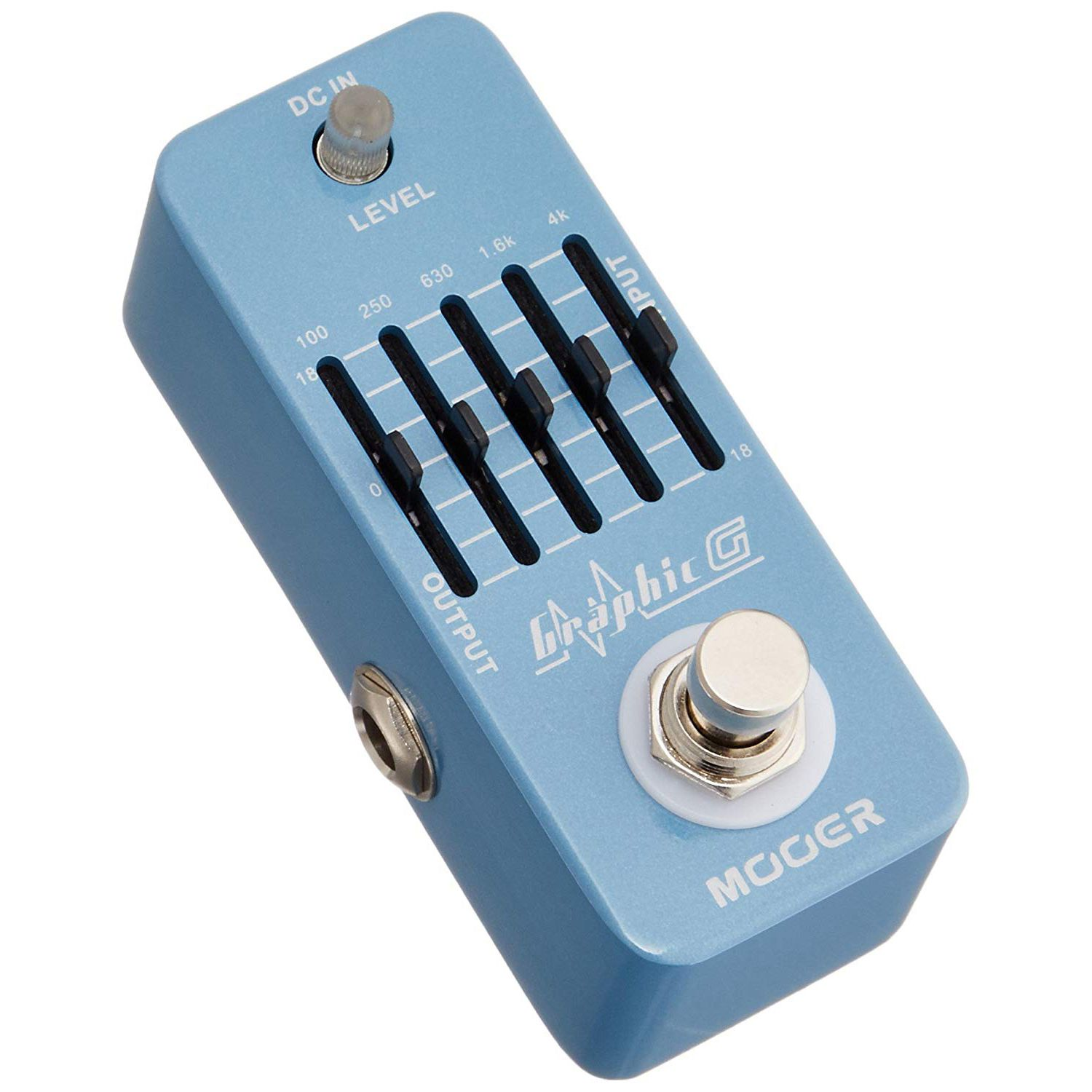 mooer graphic g mini guitar equalizer effect pedal 5 band eq true bypass full metal shell in. Black Bedroom Furniture Sets. Home Design Ideas