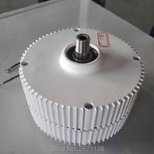 400W 12V/24V Permanent Magnet Generator Brushless 300WAlternator Motor For Wind Turbines Wind Power Generator Accessories M type vertical windmill generator 400w max power 410w 24v 12v 3 phase ac wind turbines generators
