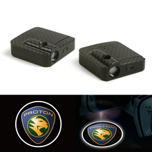 Fit For Proton Wireless Courtesy Welcome Car door Light Logo Shadow Projector 12V