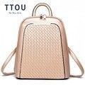 Женский рюкзак из искусственной кожи TTOU  повседневный школьный рюкзак для девочек-подростков