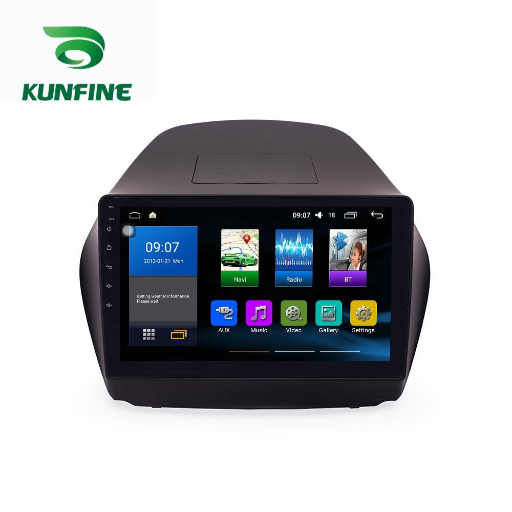 Octa Core 1024*600 Android 8.1 Car DVD GPS Navigation Player Deckless Car Stereo for Hyundai IX35 2010-2014 Radio Headunit