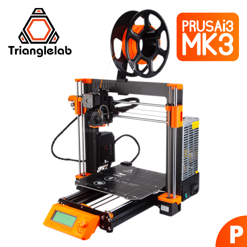 Triangle-laboratoire Clonés Prusa I3 MK3 MK2.5 kit complet 3D imprimante bricolage