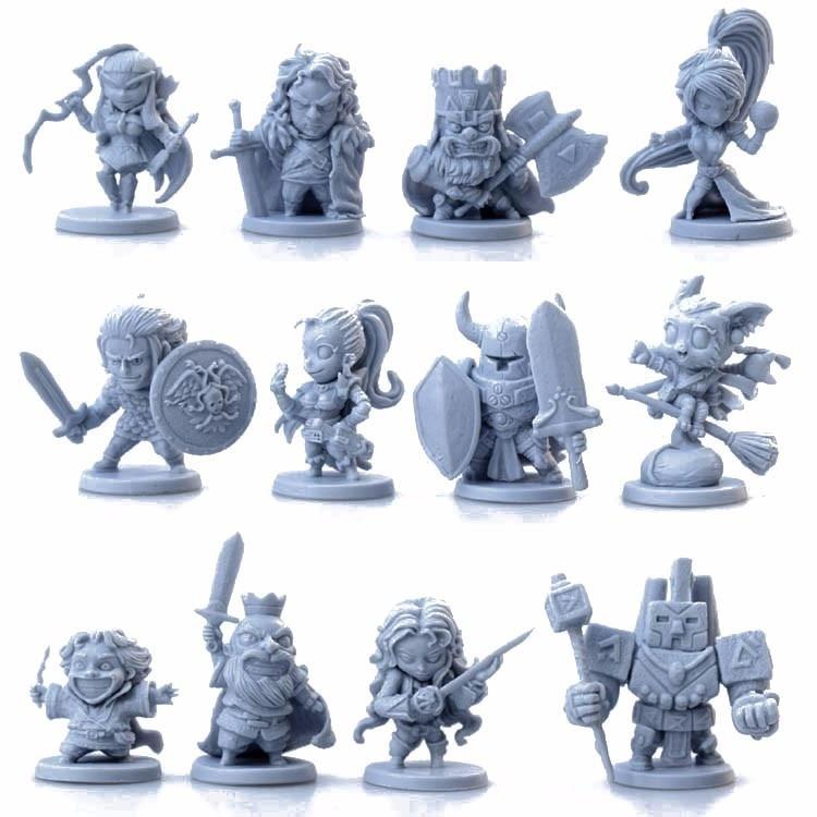Modelismo 1/72 Scale Models Fantasy Figures Toys For Children Arcada Diy Kit Arcadia Hero Quest Wargame Plastic Model Kits Sale
