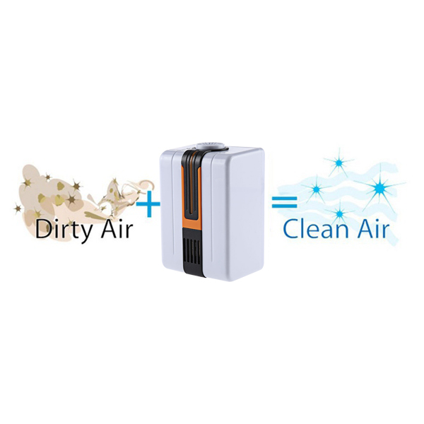 HOT Air Purifier Negative Ionizer Generator Durable Quiet Air Purifier Remove Formaldehyde Smoke Dust Air Purifier For Home Eu in Air Purifiers from Home Appliances