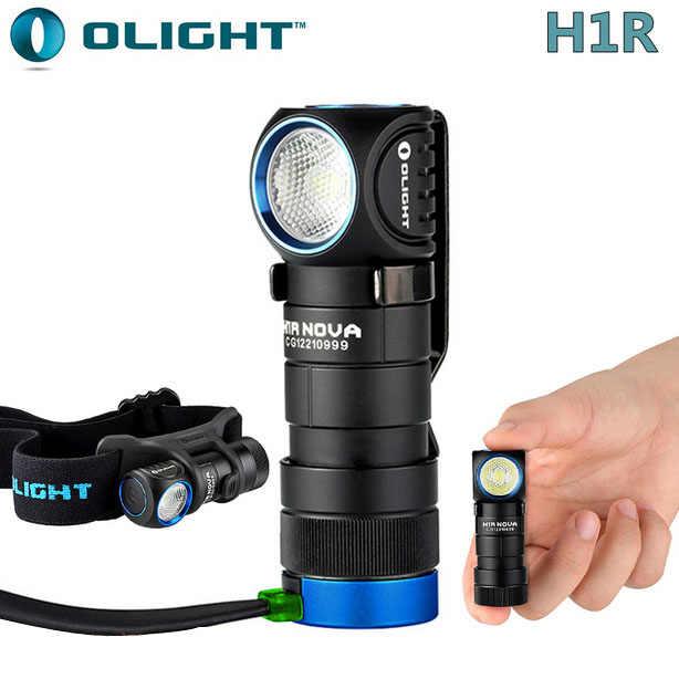 НОВЫЙ Olight H1R Nova CREE XM-L2 светодиодный 600 люмен RCR123A Аккумуляторная фары
