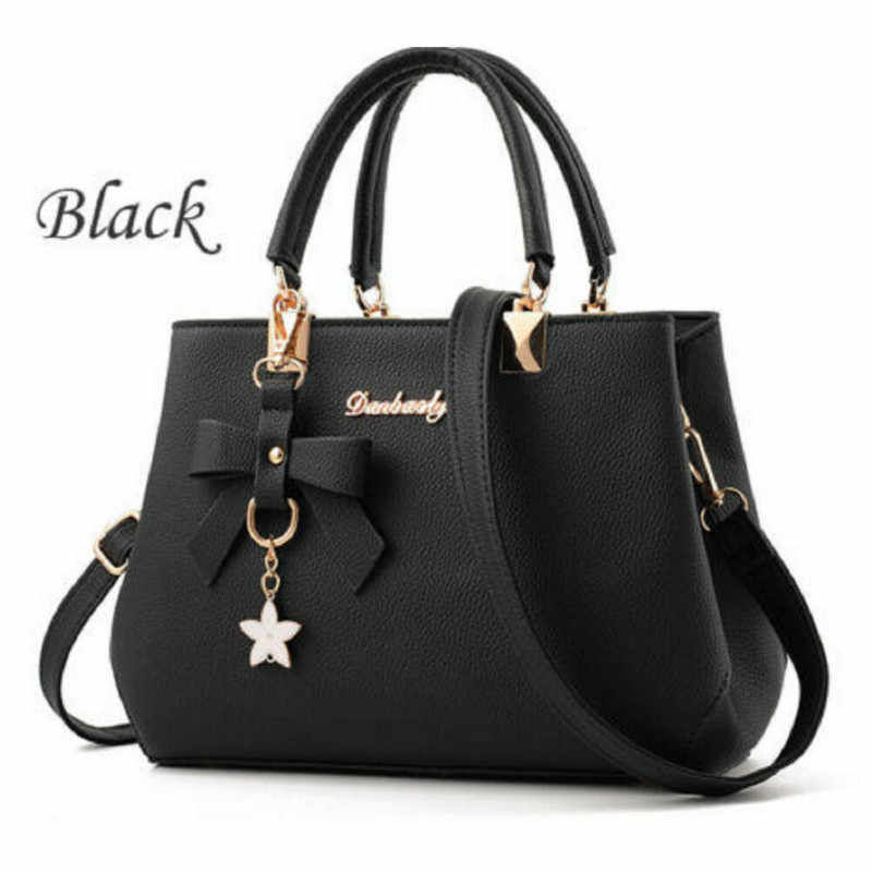 2019 Fashion Women Bags PU Leather Shoulder Handbag For Female Tote Messenger Bags Purse Crossbody Satchel Large High Quality