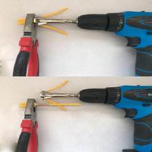 Automatic Stripping And Wire Twisting Tool Machine Wire Stripper And Twister Wire Connector Tools for Power Drill Drivers(China)