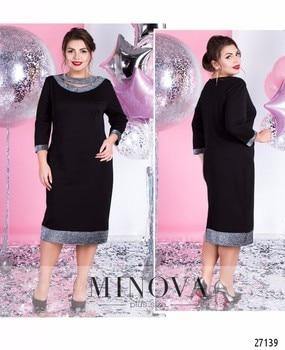 39cbac326184d47 2019 элегантное праздничное платье для женщин летнее платье больших  размеров облегающее платье с блестками миди офисные