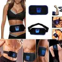 ABGymnic AB Gymnic Electronic Body Muscle Arm leg Waist Abdominal Massage Exercise Toning Belt Slim Fit Belt therapy Face Lift