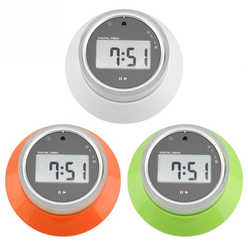 Messung Und Analyse Instrumente Mutig Digital Lcd Bildschirm Küche Kochen Timer Tragbare Runde Magnetische Countdown Larm Uhr Weiß/grün/orange Professionelle FüR Schnellen Versand Werkzeuge
