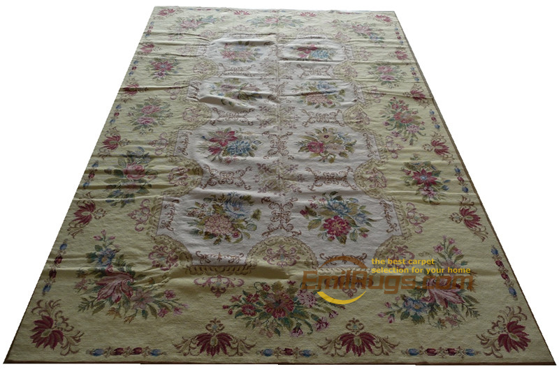 Antique Aubusson tapis Folk tapis canapé plancher utilisation Rectangle tapis turc tapis vente