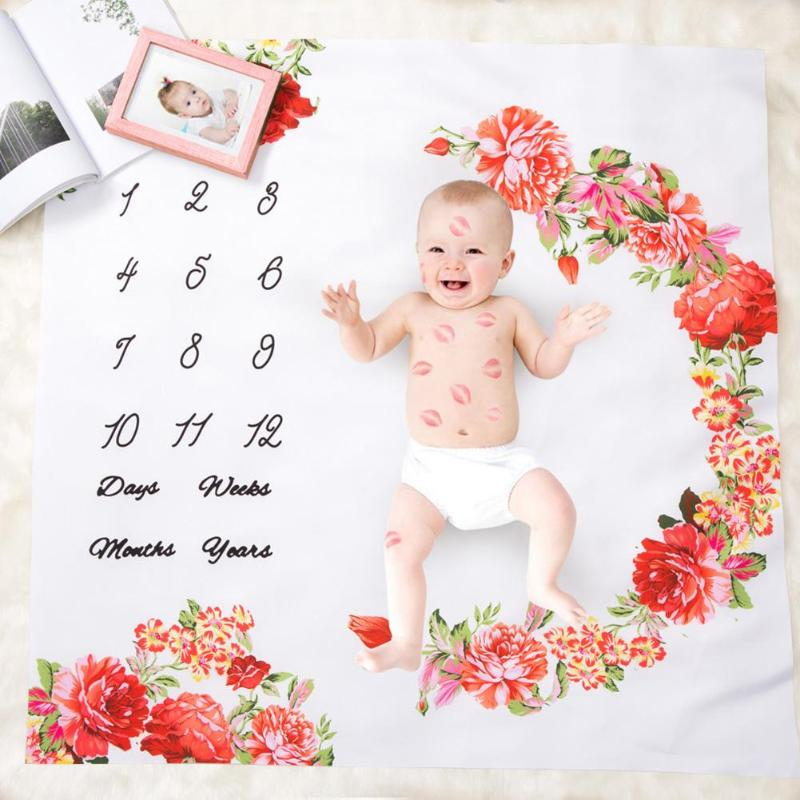 Baby Gyms & Playmats Activity & Gear New Fashion Kidlove Cute Baby Infant Crawling Activity Pad Round Kids Crawling Carpet Rabbit Blanket Cotton Game Pad Children Room Decor