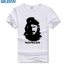 GILDAN Peace Walker Snake Big Boss T Shirt Metal Gear Solid T-Shirt Cotton Men Women Tee MGS Tshirt Plus Size Sumer Clothing