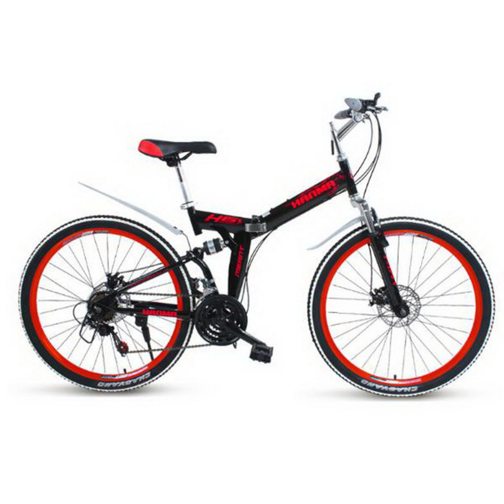 250402/24/26 Inch Double Disc Brakes Double Shock 24 Speed Students Adult Men And Women Cycling/Folding Mountain Bike