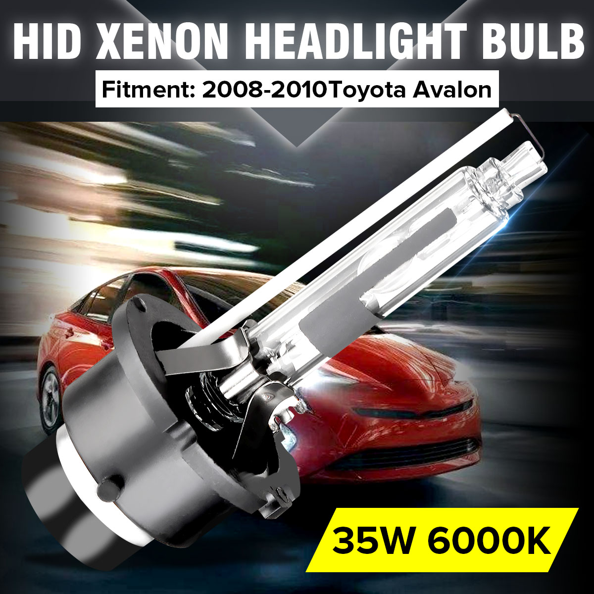 12V 35W <font><b>D4S</b></font>/D4R <font><b>6000K</b></font> 90981-20024 ,90981-20013,Car for HID Xenon Headlights Bulb White for Honda for Subaru for Mazda For Toyota image