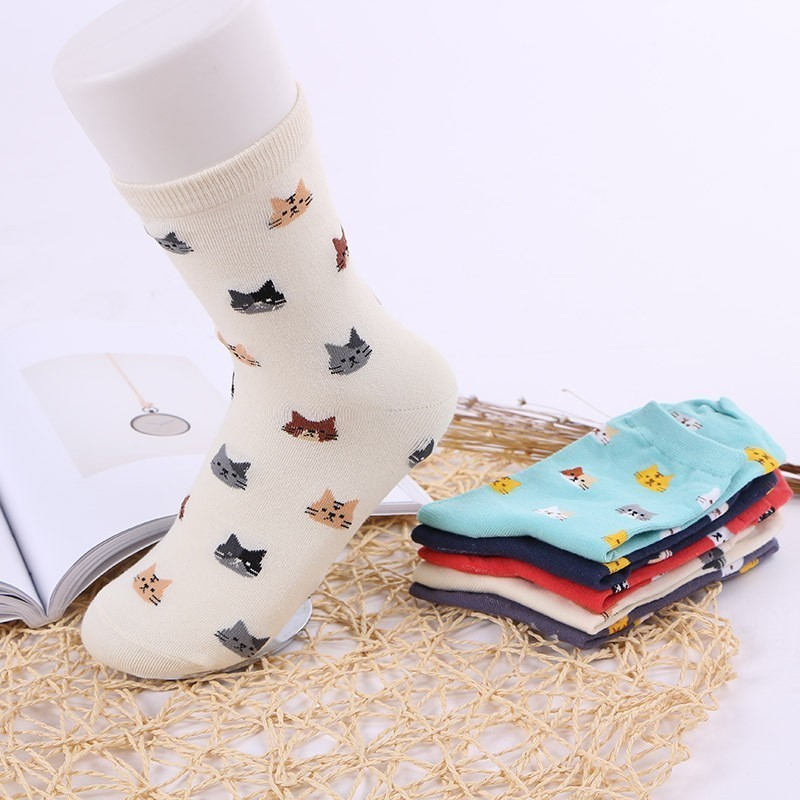 Generous Fashion New Funny Men Socks Casual Cute Cartoon Ankle Novelty Sox Soft Comfortable Male Short Sock Underwear & Sleepwears