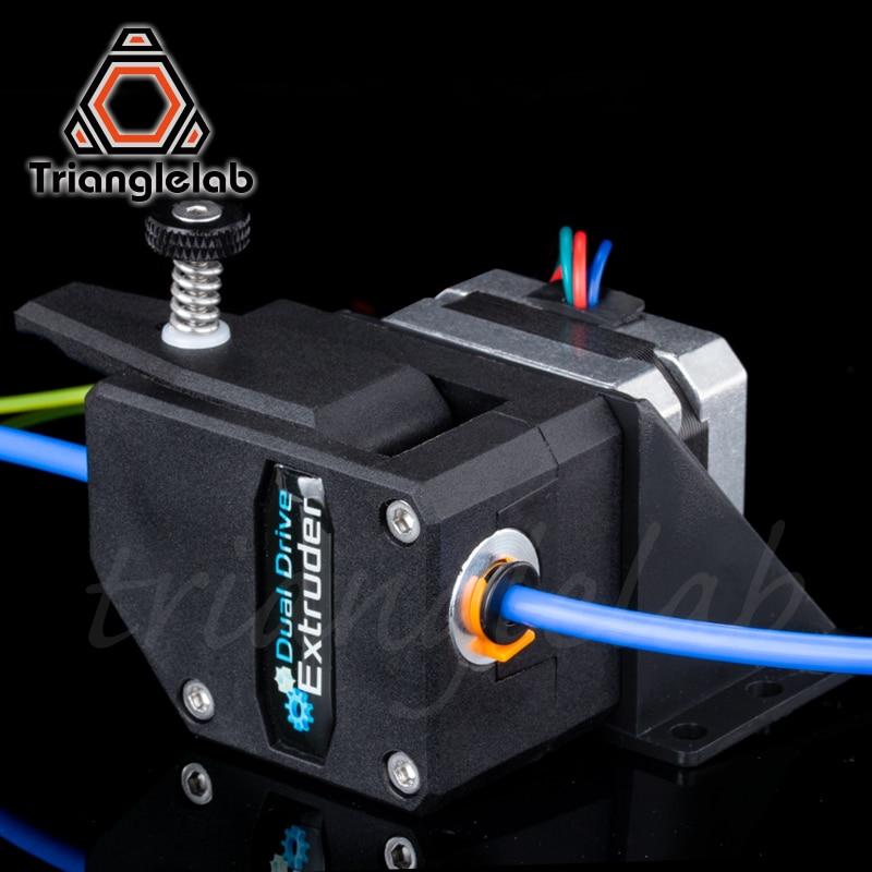 Trianglelab de alto rendimiento BMG extrusora clonado Btech Bowden extrusora Dual extrusora para 3d impresora para 3D impresora MK8 - 2