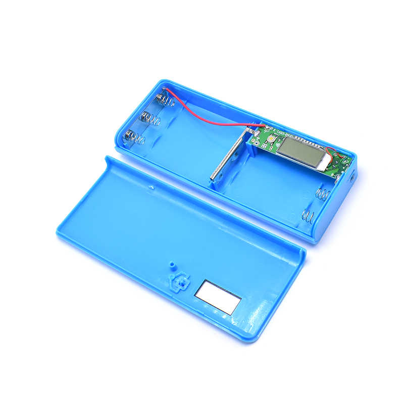 (No Battery)5x18650 DIY Battery Bank Portable Battery Shell Box Case DIY KIT Digital LCD Display Powerbank 18650 Protector Case