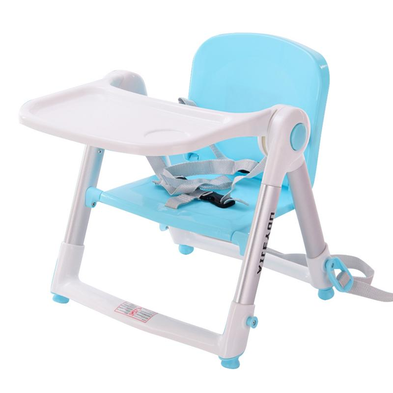 Baby Going Out At Home Dining Chair Multi-functional Children's Folding Baby Beat Portable Eating Chair Kids Dining Table Stool тарелочки constructive eating