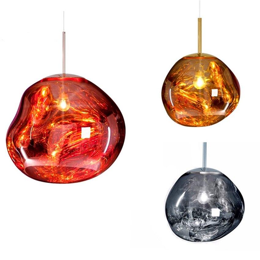 Modern Lava Glass Pendant Lamps Led Glass Ball Pendant Lights Lighting Art Bedroom Bar Living Room Hanging Lamp Kitchen FixturesModern Lava Glass Pendant Lamps Led Glass Ball Pendant Lights Lighting Art Bedroom Bar Living Room Hanging Lamp Kitchen Fixtures
