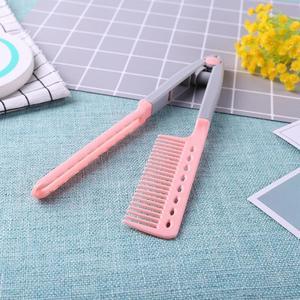 Image 5 - Портативный выпрямитель для волос V образный выпрямитель для волос складной Расческа для самостоятельной сборки