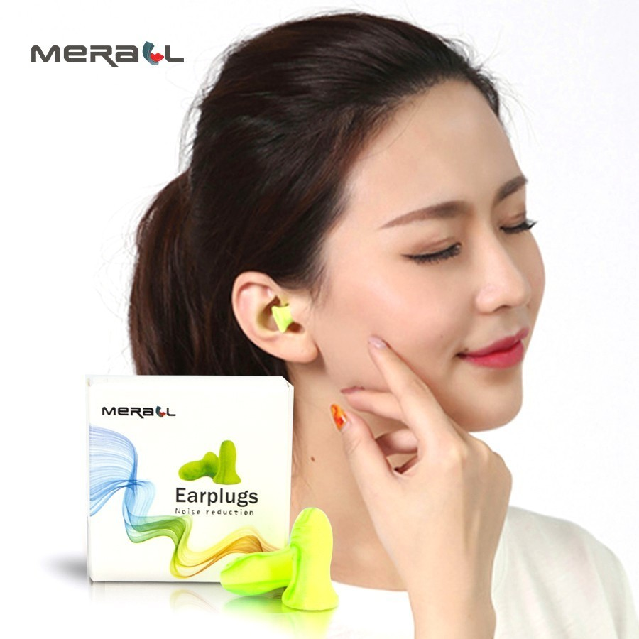 2pcs/box High quality Soft Foam Ear Plugs Travel Sleep Noise Prevention Earplugs Noise Reduction Accessories Slpeeping Aid Tools new fasion cute 1pair colour soft ear plugs sleep work travel plane earplugs noise reducer good quality