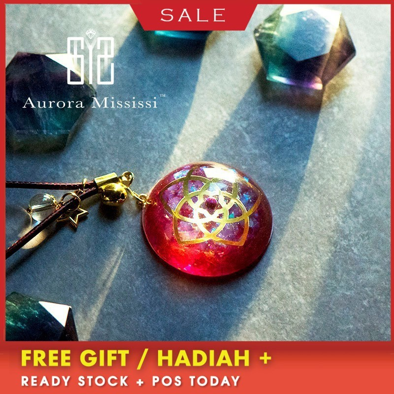 AURA REIKI Orgonite Venus Love Pendant Help Marriage Energy Crystal Pendant Reiki Radiation Protection Jewelry Girl Friend Gift image