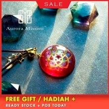AURAREIKI Orgonite Venus Love Pendant Help Marriage Energy Crystal Pendant Reiki Radiation Protection Jewelry Girl Friend Gift