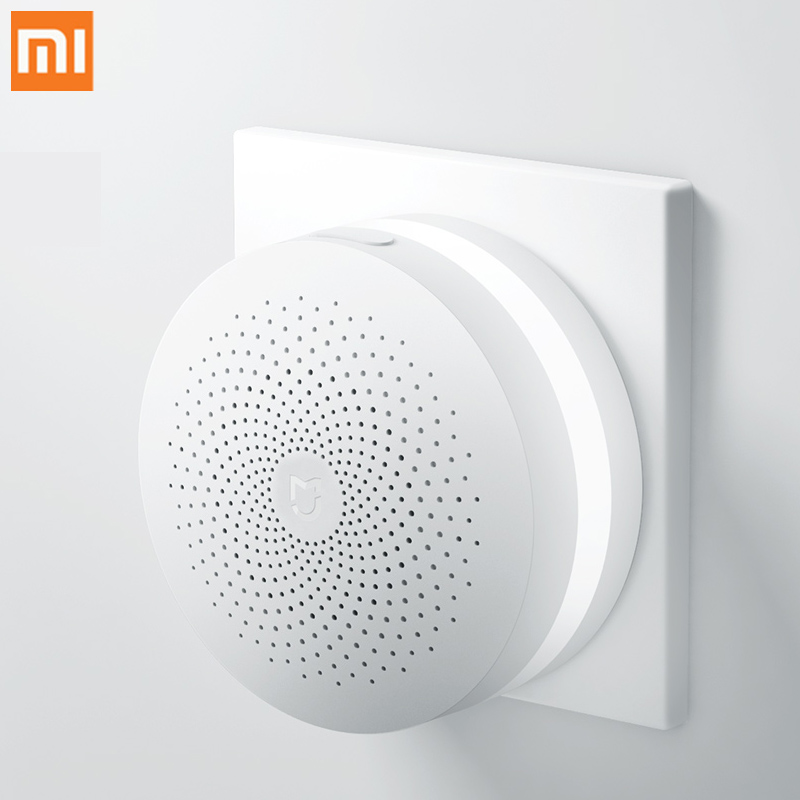 Xiaomi Mijia Multifunction Gateway 2 Wifi Remote Control Center Mi Smart Home Kit Alarm System Light Bell Body Sensor Controller