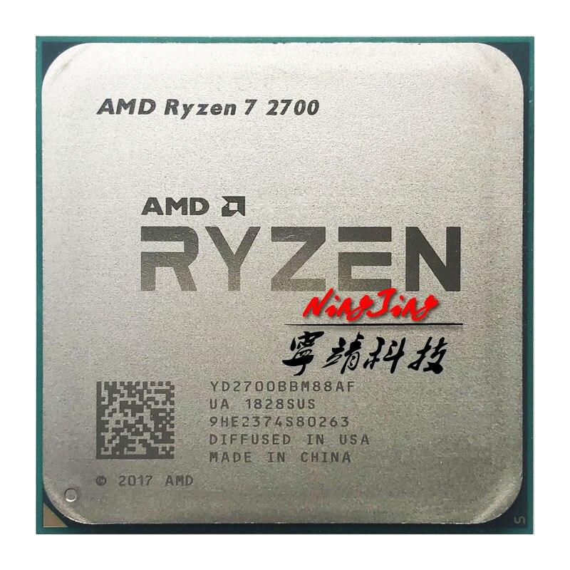 AMD Ryzen 7 2700 R7 2700 3.2 GHz Eight Core Sinteen Thread 16M 65W CPU Processor YD2700BBM88AF Socket AM4|CPUs|   - AliExpress
