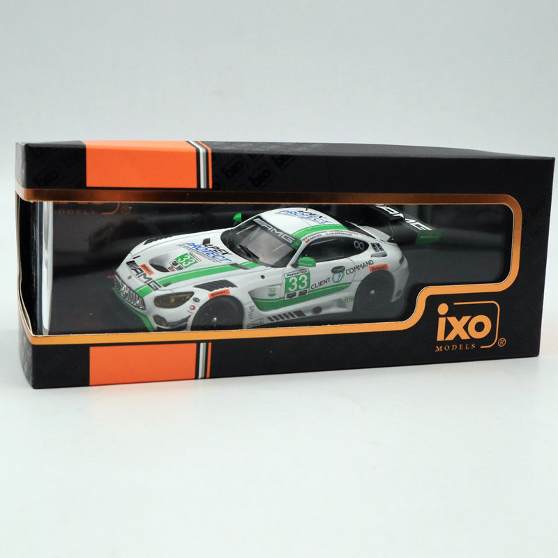 IXO 1:43 MERCEDES AMG GT3 #33 24H Daytona 2017 GTM108 Limited Edition Collection