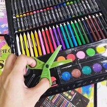 6dcb8c21364e 150 unids/set niños cepillo de pintura dibujo los estudiantes de Color de  agua arte suministros de lápiz Pastel pintura lápiz di.